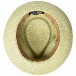 Καπέλο καλοκαιρινό ψάθινο Kangol Waxed Braid Trilby, εσωτερικό