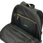 Σακίδιο πλάτης μαύρο National Geographic Pro Female Backpack Black, εσωτερικό.