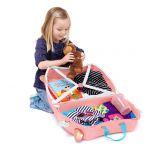 Βαλίτσα παιδική Flossi το φλαμίνγκο Trunki Flossi The Flamingo Luggage