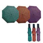 Ομπρέλα γυναικεία σπαστή αυτόματο άνοιγμα - κλείσιμο Guy Laroche Automatic Open - Close Folding Umbrella Rings.