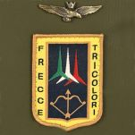 Τσάντα ανδρική ώμου - χεριού και σακίδιο πλάτης χακί Aeronautica Militare Frecce Crossbody Bag - Backpack AM - 344 Khaki, λεπτομέρεια, logo.
