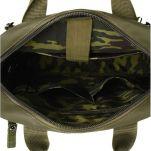 Τσάντα ανδρική ώμου - χεριού και σακίδιο πλάτης χακί Aeronautica Militare Frecce Crossbody Bag - Backpack AM - 344 Khaki, εσωτερικό.