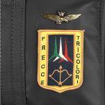 Σακίδιο πλάτης αδιάβροχο ανθρακί Aeronautica Militare Frecce Backpack AM - 345 Anthracite, λεπτομέρεια, logo.