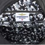 Σακίδιο πλάτης αδιάβροχο ανθρακί Aeronautica Militare Frecce Backpack AM - 345 Anthracite, λεπτομέρεια, εσωτερικό.