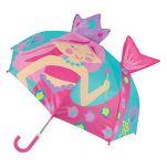 Ομπρέλα παιδική τρισδιάστατη γοργόνα Stephen Joseph Pop Up Umbrella Mermaid