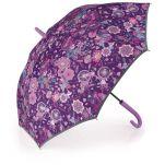Ομπρέλα μεγάλη γυναικεία αυτόματη φλοράλ Gabol Stick Umbrella Abril.