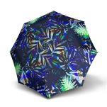 Ομπρέλα σπαστή γυναικεία αυτόματο άνοιγμα - κλείσιμο, Knirps Folding Umbrella T.200 Duomatic Liana Blue.