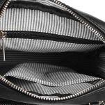 Τσαντάκι ώμου ανδρικό μαύρο Beverly Hills Polo Club Project Shoulder Bag Black εσωτερικό.
