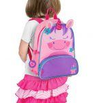 Σακίδιο πλάτης παιδικό μονόκερος Stephen Joseph New Sidekick Backpack Unicorn.