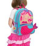 Σακίδιο πλάτης παιδικό γοργόνα Stephen Joseph New Sidekick Backpack Mermaid.