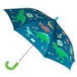 Ομπρέλα παιδική δεινόσαυροι που χρωματίζεται στη βροχή Stephen Joseph Color Changing Umbrella Dino.