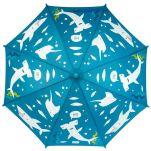 Ομπρέλα παιδική που χωματίζεται στη βροχή καρχαρίας Stephen Joseph Color Changing Umbrella Shark, χωρίς χρωματισμό.Ομπρέλα παιδική που χρωματίζεται στη βροχή καρχαρίας Stephen Joseph Color Changing Umbrella Shark