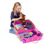 Βαλίτσα παιδική ροζ Trunki Trixie