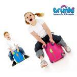 Βαλίτσα παιδική ροζ και μπλε Trunki