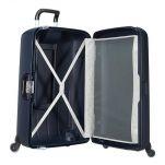 Βαλίτσα σκληρή 4 ρόδες μεγάλη σκούρο μπλε Samsonite Termo Young Spinner 78 cm