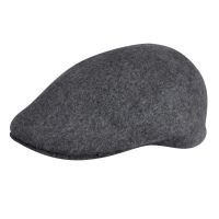 Wool Cap 507 Kangol Seamless Dark Flannel