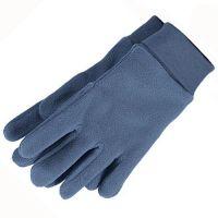 Γάντια παιδικά fleece μπλε ραφ Sterntaler