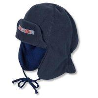 Καπέλο σκουφάκι με αυτιά παιδικό χειμερινό θαλασσί  Sterntaler Trapper Hat
