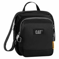Τσάντα ώμου - χεριού ισοθερμική μαύρη Caterpillar The Giants Colossus Lunch Bag 83331 Black