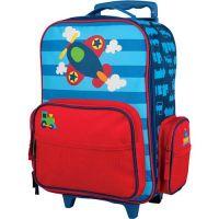 Βαλίτσα παιδική αεροπλανάκι Stephen Joseph Classic Rolling Luggage Airoplane