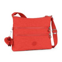 Τσάντα ώμου κόκκινη Kipling Basic Alvar Shoulder Bag Happy Red