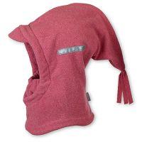Καπέλο μπαλακλάβα παιδική ροζ φλις  Sterntaler Balaclava