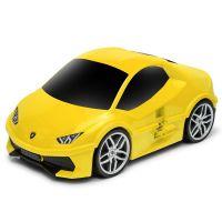 Βαλίτσα παιδική αυτοκίνητο Ridaz Lamborghini Huracán, κίτρινη