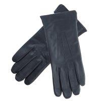 Γάντια γυναικεία δερμάτινα μαύρα Guy Laroche 98861