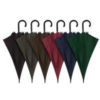 Ομπρέλα μεγάλη αυτόματη μονόχρωμη αντιανεμική Blue Drop Stick