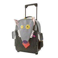 Βαλίτσα παιδική υφασμάτινη λύκος Les Deglingos Bigbos