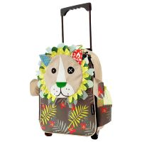 Kids' Travel Luggage Les Deglingos Jelekros The Lion