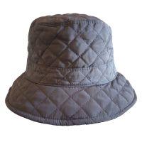Καπέλο αδιάβροχο γυναικείο χειμερινό καπιτονέ, γκρι