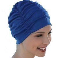 Σκουφάκι θάλασσας μονόχρωμο Lycra Swimming Cap, μπλε