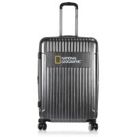 Large Hard Luggage 4 Wheels National Geographic Transit L