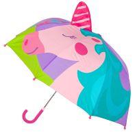 Ομπρέλα παιδική τρισδιάστατη μονόκερος Stephen Joseph Pop Up Umbrella Unicorn