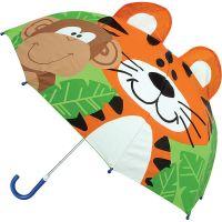 Ομπρέλα παιδική τρισδιάστατη  άγρια ζώα Stephen Joseph Pop Up Umbrella Zoo