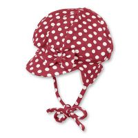 Καπέλο σκουφάκι παιδικό χειμερινό μοβ φλις με πομ - πον Sterntaler Inka Hat