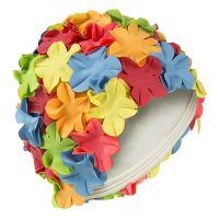 Σκουφάκι θάλασσας πολύχρωμο με λουλούδια
