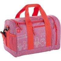 Τσάντα ταξιδιού παιδική μανιτάρι Lässig Mini Sportsbag Mushroom Magenta