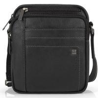 Τσάντα ώμου μεσαία μαύρη Gabol Borneo Shoulder Bag Black