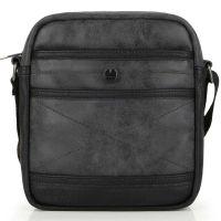 Τσάντα ώμου μεσαία μαύρη Gabol Shoulder Bag Tax Black