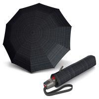 Ομπρέλα σπαστή ανδρική αυτόματο άνοιγμα - κλείσιμο καρώ Knirps T.200 Duomatic Men's Prints Checks