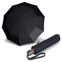Automatic Open - Close Folding Umbrella Knirps T.200 Duomatic Men's Prints Stripes