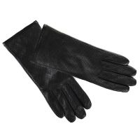 Γάντια δερμάτινα γυναικεία ταμπά  Guy Laroche Leather Gloves Cinnamon