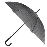 Ομπρέλα μεγάλη ανδρική αυτόματη ριγέ Ferre Stick Umbrella Stripes