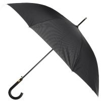 Ομπρέλα μεγάλη ανδρική αυτόματη καρό Ferre Stick Umbrella Check Pied de Poule