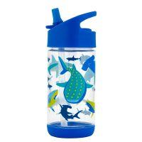 Παγουρίνο παιδικό με καλαμάκι καρχαρίας Stephen Joseph Flip Top Bottles Shark