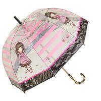 Ομπρέλα μεγάλη  διάφανη Santoro Gorjuss Sugar & Spice