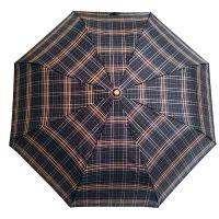 Ομπρέλα γυναικεία ασπρόμαυρη σπαστή με αυτόματο άνοιγμα και κλείσιμο Guy Laroche 8341