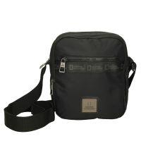 Τσαντάκι ώμου ανδρικό μαύρο  National Geographic Generation N Utility Bag N0460806 Black